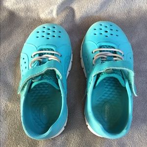 Stride Rite Shoes - Toddler Blue / White Outdoor Play Water Shoes 💧